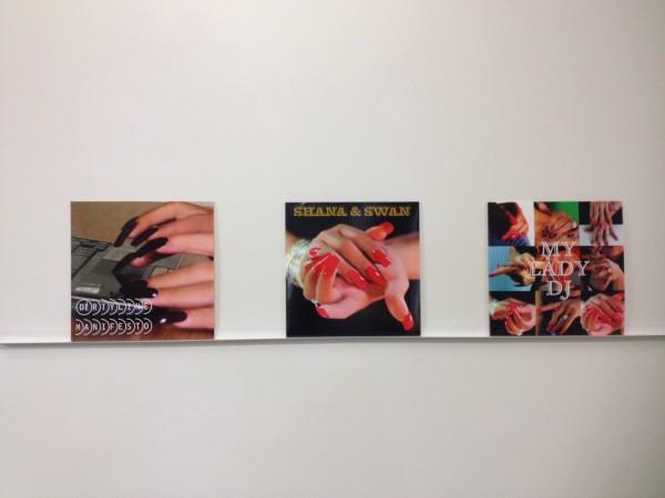 Xoán Anleo, Dirty line manifesto. My lady DJ. Shana & Swan, 2014. carátula disco vinilo