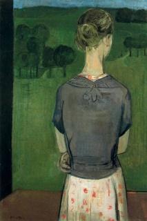 Carmen Laffón (Muchacha de espaldas, 1957)