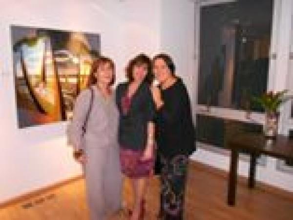 Carla Mourão, Lilian Kanitz e Léa Meirelles