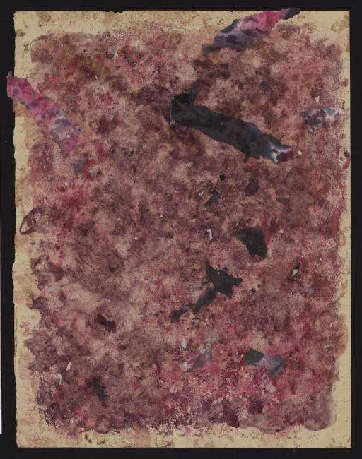 Jeanne Tripier, Sin título, 6 marzo 1937. Tinta sobre papel, 22,2x17,4 cm. Foto: Amélie Blanc, Atelier de numérisation – Ville de Lausanne. Collection de l'Art Brut, Lausana — Cortesía de La Casa Encendida