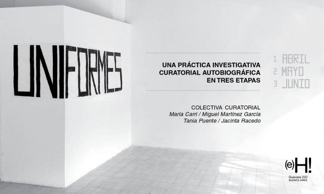 UNIFORMES - PRÁCTICA INVESTIGATIVA CURATORIAL AUTOBIOGRÁFICA