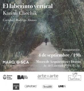 El laberinto vertical. Imagen cortesía ArtexArte | Fundación Alfonso y Luz Castillo
