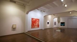 Vista de la exposición — Cortesía de la galería Xavier Fiol