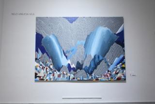 Nelo Vinuesa Vila, Vent du nord, 2016. Primer premio Bienal de Pintura Isabel Comenge, primera edición. Foto Eduardo Alapont — Cortesía del Centro Cultural La Nau