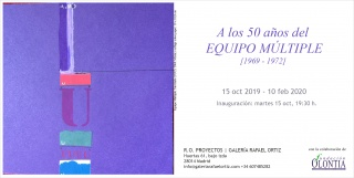 A los 50 años del Equipo Múltiple (1969-1972) - Invitación
