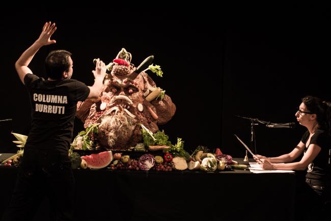 Escorpión y Félix, Performance, Arte en vivo, nov 2020 | ARTEINFORMADO