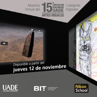 15 ° Concurso Nacional UADE de Artes Visuales, categoría Digitales