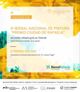 6ª Bienal Nacional de Pintura Premio Ciudad de Rafaela
