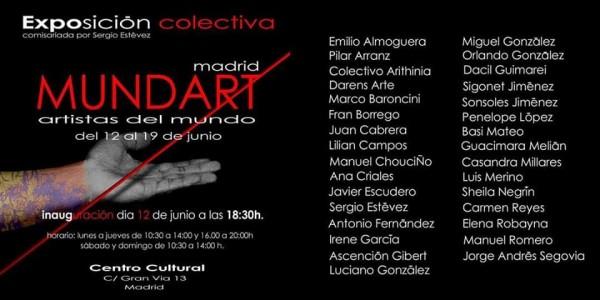 Cartel Exposición Mundart