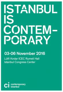 Logotipo. Cortesía de Contemporary Istanbul