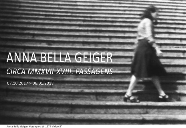 Anna Bella Geiger. Circa MMXVII-XVII. Passagens