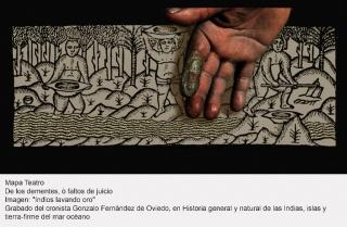 Mapa Teatro. De los dementes, ò faltos de juicio — Cortesía del Museo Nacional Centro de Arte Reina Sofía