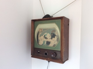 Nam June Paik, 18th Century TV (1967-1969) Cortesía de la Colección Pierre Huber
