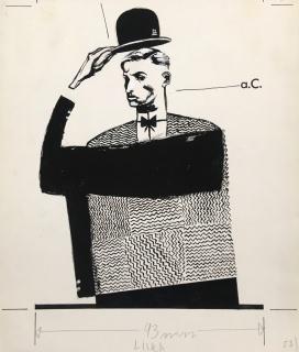 Sin título (Ilustración para El País, 1993), Raúl