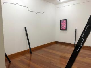 Vista de la exposición  — Cortesía de la Galeria de Arte Mamute
