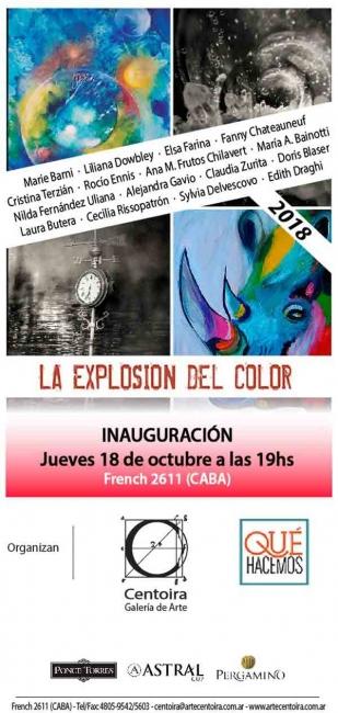 Explosión del color. Muestra colectiva