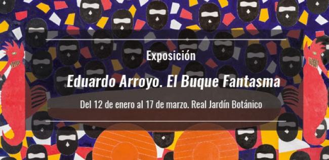 Eduardo Arroyo. El Buque Fantasma