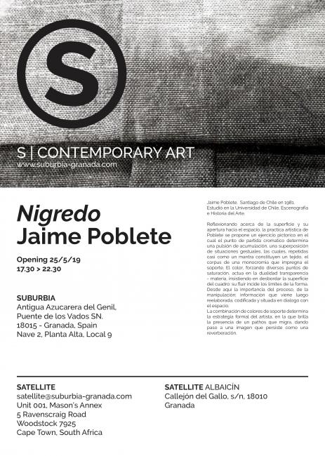 Nigredo | Jaime Poblete