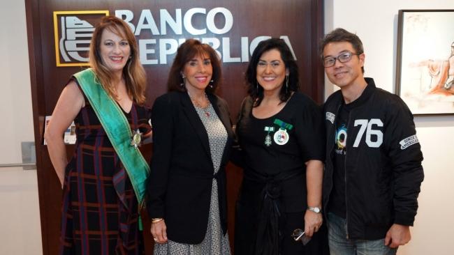 Katia Marcone, Licia Simoneti, Carla Mourão e Claudio Takita