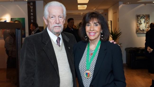 Dr. Mario de Méroe e Carla Mourão