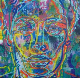 Miguel de Unamuno Vera, Cabeza cuantica — Cortesía de APPA Art Gallery