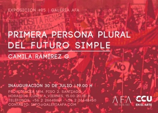 Camila Ramírez G. Primera persona plural del futuro simple