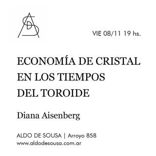 Economía del cristal en los tiempos de Toroide