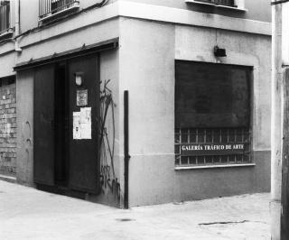 Galería Tráfico de Arte, 1995. Fotografía: Cristina Pimentel — Cortesía del MUSAC