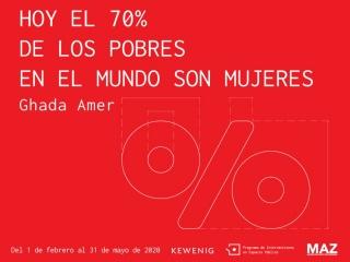Hoy el 70 % de los pobres en el mundo son mujeres