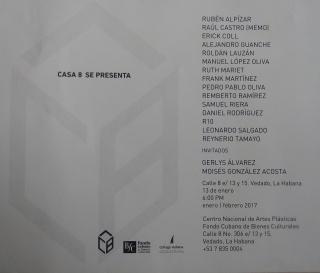 Invitación Casa8 SE PRESENTA