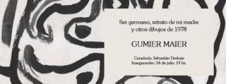 Gumier Maier, Ser germano, retrato de mi madre y otros dibujos de 1978