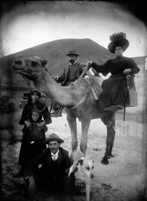 Jacinto Alonso, Retrato de principios del siglo XX. Imagen cedida por sus herederos (familia Andueza Martín) – Cortesía de Fotonoviembre 2017