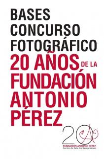 Concurso fotográfico «20 años de la Fundación Antonio Pérez»