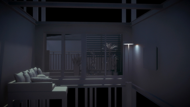 Kang Hyunseon, The Last Apartment — Cortesía del Centro Cultural Coreano