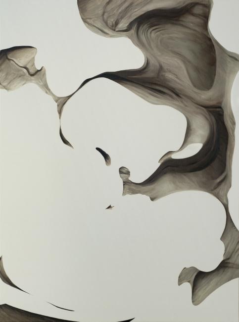 Eerip, The Resonance-'Flat'_#2. Oil on Canvas, 130 x 97cm., 2019 — Cortesía del Centro Cultural Coreano