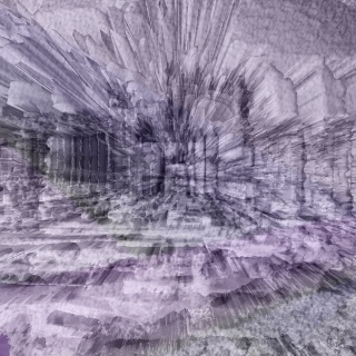 "Palmira 2 (serie ""No Past, No Identity, digital, 80x80 cm)"