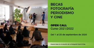 Becas fotografía, cine y periodismo 2020/2021