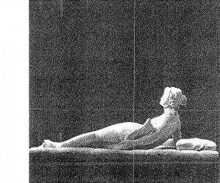 Manuel A. Fernández & Nicolás Martella. 70 (Safo), 2021. Escaneo e impresión inkjet. 100 x 120 cm. — Cortesía de Meridiano (Cámara Argentina de Galerías de Arte)