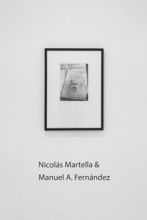 Manuel A. Fernández & Nicolás Martella. Estilo e Iconografía. Fotografía de Catalina Romero — Cortesía de Meridiano (Cámara Argentina de Galerías de Arte)