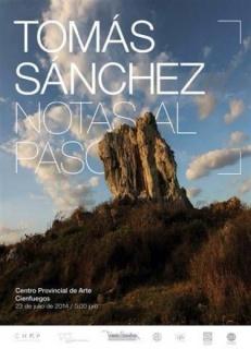 Tomás Sánchez, Notas al paso
