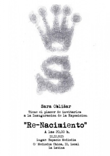 Sara Oblisar, Re-Nacimiento