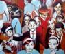 Eva Agasa. Nit de reis, 2015. Pintura acrílica sobre tela. 80 x 65 cm