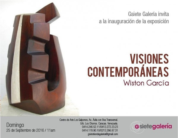 Wiston García, Visiones contemporáneas