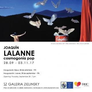 Joaquín Lalanne. Cosmogonía Pop
