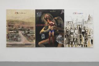 Margaret Harrison, 'Guernika-Aleppo', 2018