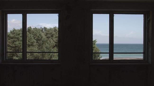 Irene de Andrés, Prora. Complejos de destino, 2018 (fotograma del vídeo). Vídeo 4K. Monocanal, color, sonido. Duración: 7min 30 seg © de la obra, Irene de Andrés, 2018
