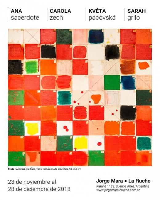 Colectiva. Imagen cortesía  Galería Jorge Mara- La Ruche