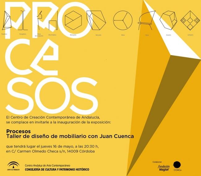 Procesos. Taller de diseño de mobiliario con Juan Cuenca