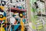 Muros Tabacalera 2019: El azar — Cortesía de Madrid Street Art Project