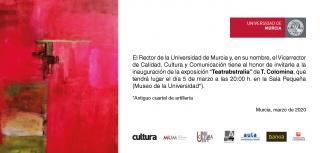 T. Colomina. Teatrabstralia — Cortesía de la Universidad de Murcia